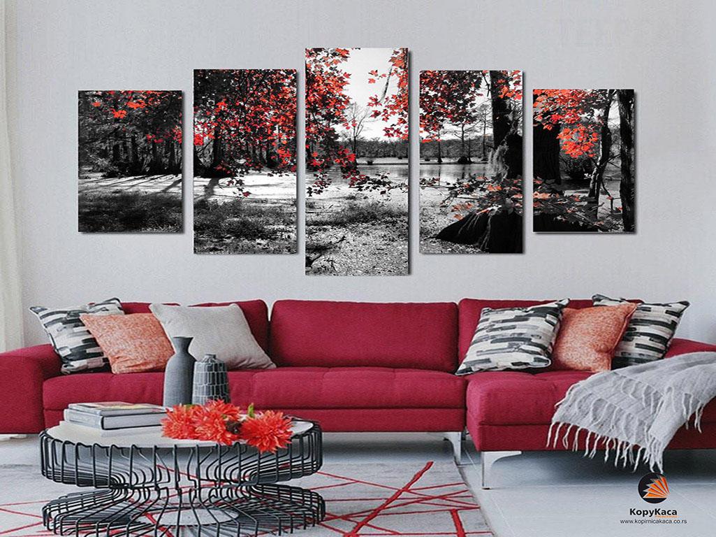 Slike Na Platnu Cveće štamparija Beograd Kopirnica Kaća